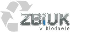 logotyp ZBIUK w Kłodawie